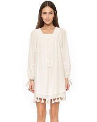 Robe style paysanne blanche Apiece Apart