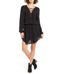 Robe style paysanne noire