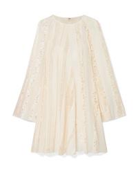 Robe trapèze beige Chloé
