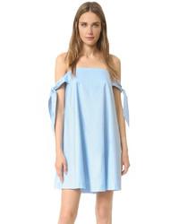 Robe trapèze bleu clair Rebecca Minkoff