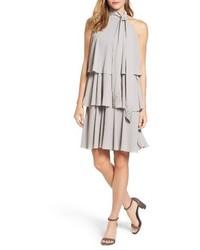 Robe trapèze grise
