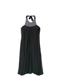 Robe trapèze noire Amir Slama