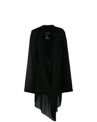 Robe trapèze noire Ann Demeulemeester
