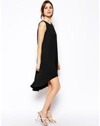 Robe trapèze noire Asos
