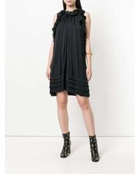 Robe trapèze noire Chloé