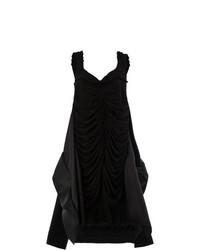 Robe trapèze noire Maison Margiela