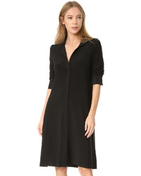 Robe trapèze noire Norma Kamali