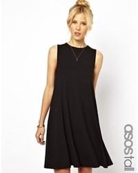 Robe trapèze noire