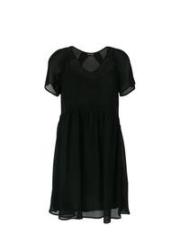 Robe trapèze noire Twin-Set