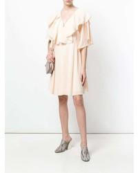Robe trapèze rose Chloé