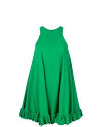 Robe trapèze verte MSGM