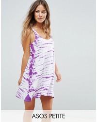 Robe trapèze violet clair Asos