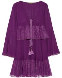 Robe violette Roberto Cavalli