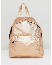 magasin en ligne 0d296 b871e Acheter sac à dos doré femmes Asos   Mode femmes   Lookastic ...