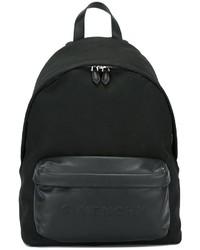 Sac à dos en cuir noir Givenchy