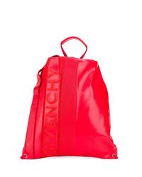 Sac à dos en cuir rouge Givenchy