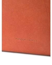 Sac à dos en cuir tabac Mansur Gavriel