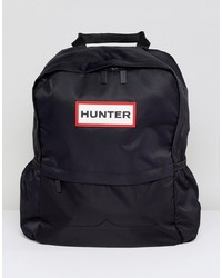 Sac à dos en nylon noir Hunter