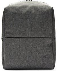 Sac à dos en toile gris