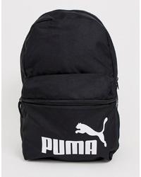 Sac à dos en toile imprimé noir et blanc Puma