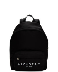 Sac à dos en toile noir Givenchy