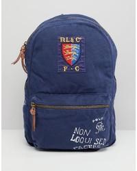 Sac à dos imprimé bleu marine Polo Ralph Lauren