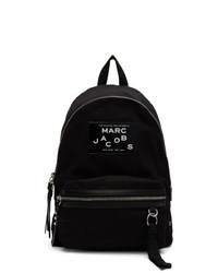 Sac à dos imprimé noir Marc Jacobs