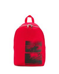 Sac à dos imprimé rouge Calvin Klein Jeans