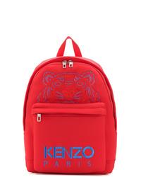 Sac à dos imprimé rouge Kenzo