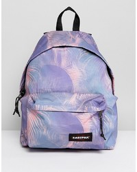 Sac à dos imprimé violet clair Eastpak