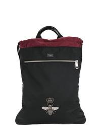 Sac à dos noir Dolce & Gabbana