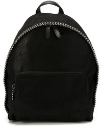 Sac à dos noir Stella McCartney