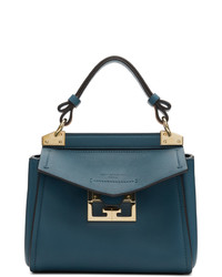 Sac à main en cuir bleu Givenchy