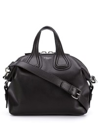 Sac à main en cuir noir Givenchy
