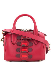 Sac à main en cuir rouge Anya Hindmarch