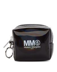 Sac à main imprimé noir MM6 MAISON MARGIELA