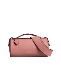 Sac banane en cuir rose Burberry