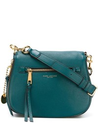 Acheter sac bandoulière en cuir bleu canard Marc Jacobs ...