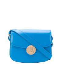 Sac bandoulière en cuir bleu Calvin Klein 205W39nyc
