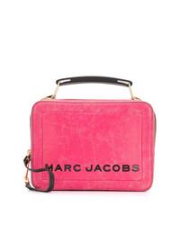Sac bandoulière en cuir fuchsia Marc Jacobs