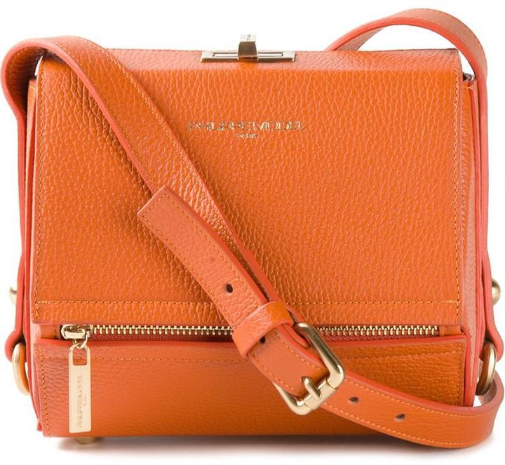 8fa25312ca Sac bandoulière en cuir orange Philippe Model, €489 | farfetch.com ...