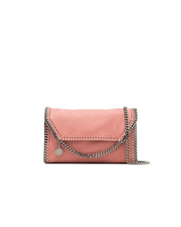 Sac bandoulière en cuir rose Stella McCartney