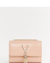 Sac bandoulière en cuir rose Valentino by Mario Valentino
