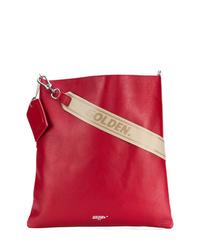 Sac bandoulière en cuir rouge Golden Goose Deluxe Brand