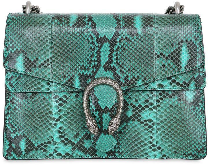Sac bandoulière imprimé serpent vert menthe Gucci  Où acheter et ... bcc8dc5711c