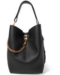 Sac bourse en cuir noir Givenchy