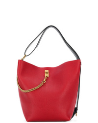 Sac bourse en cuir rouge Givenchy