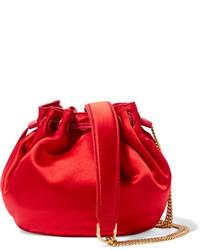 Sac bourse rouge Diane von Furstenberg