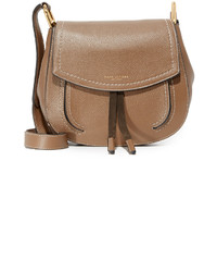 Sac en daim marron clair Marc Jacobs