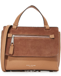 Sac en daim marron Marc Jacobs